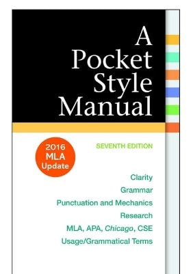 A Pocket Style Manual 7th edition pdf free Download